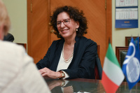 Director of the Italian Institute of Culture visits MSLU