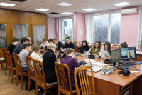 Interpreter of the European Commission held master classes