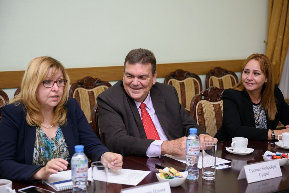 Cuban Embassy Delegation Visit To MSLU